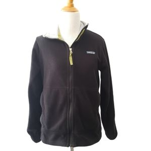 Vintage Patagonia Synchilla Full Zip Fleece Black